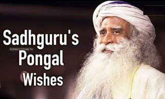 Sadhguru's Pongal Wishes to Everyone 16-01-2019 Puthuyugam Tv