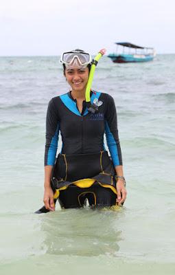 Cekwe cantik ini berenang Ayudiya Bing Slamet