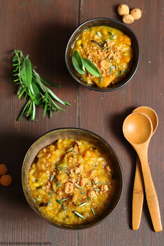 Risotto con la zucca, Lapsang Souchong