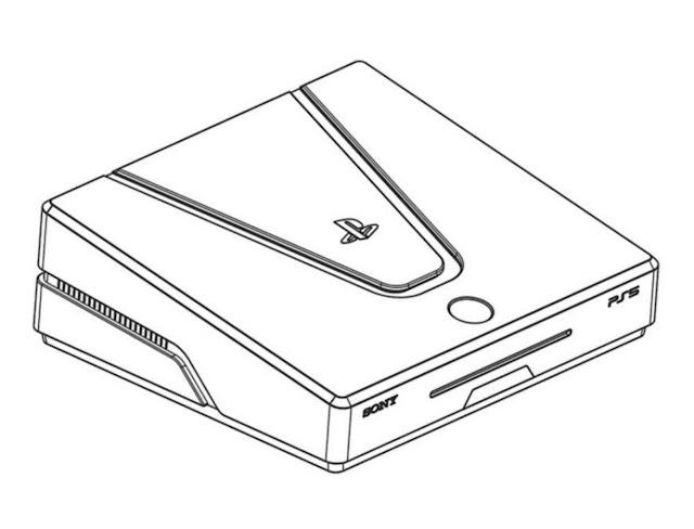 إشاعة : بالصور تسريب تصميم الشكل النهائي لجهاز بلايستيشن 5 القادم