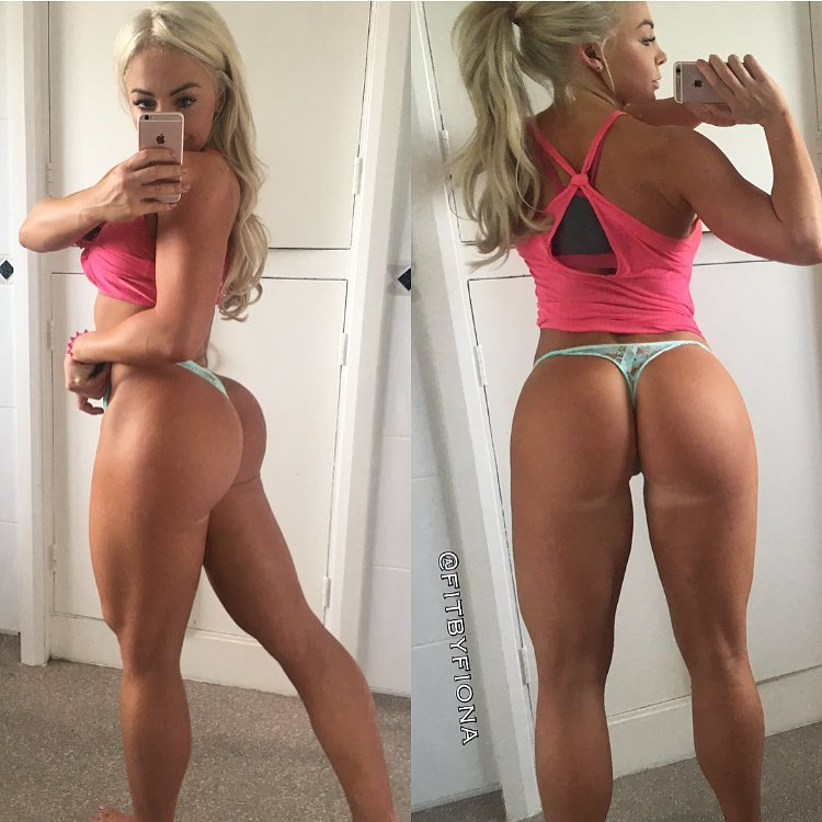 hot fitness girl Fiona Mcnab