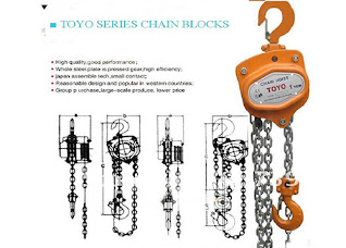 Darmatek Jual Chain Block TOYO