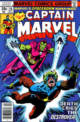 Captain Marvel #58, Drax the Destroyer