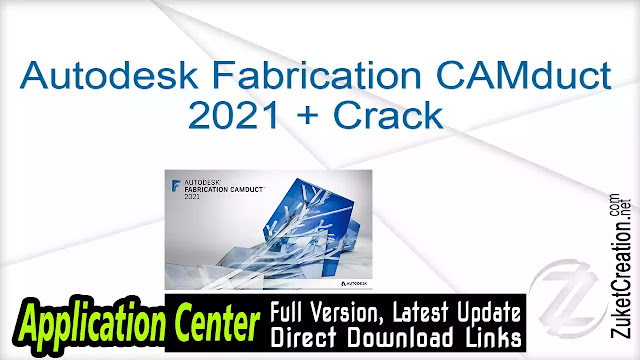 Autodesk Fabrication CAMduct 2021 + Crack
