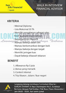 Walk In Interview di Employers Excelent Surabaya Terbaru Mei 2019
