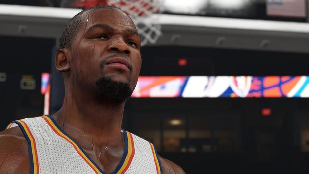 Kevin Durant NBA 2K15 Screenshot