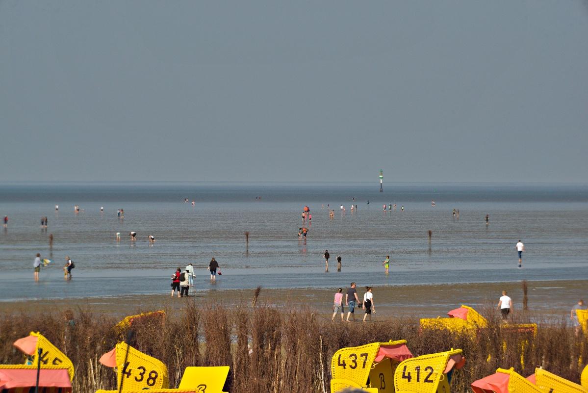 Strand vor Cuxhaven