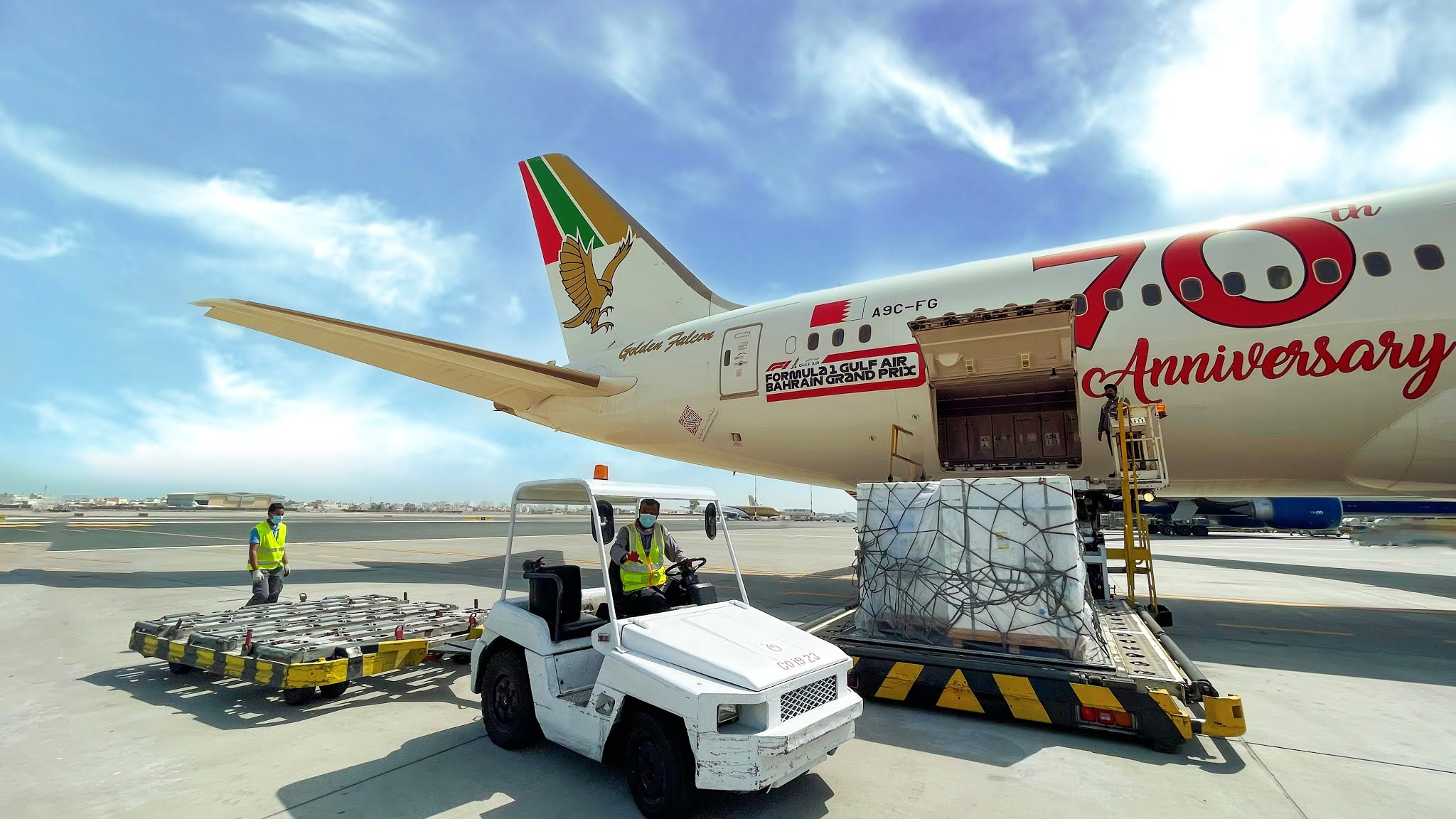 Gulf Air supports COVID-19 vaccine delivery