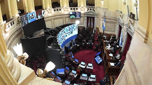 El Senado aprobó la ley de alquileres, sin la presencia de Juntos por el Cambio