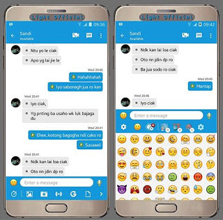 BBM Light Official New Style Base v3.0.1.25 MOD APK Update Terbaru Gratis