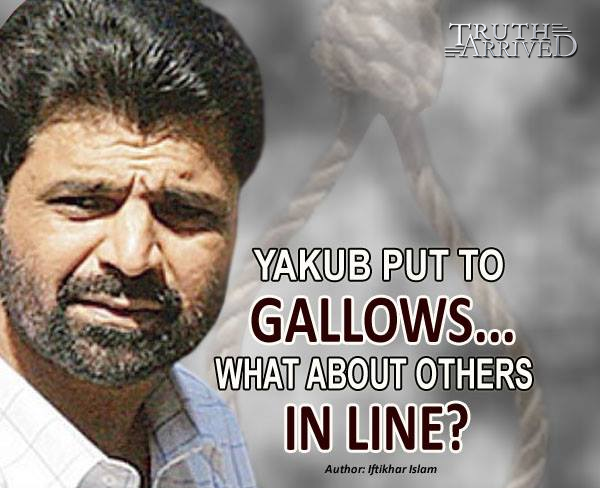 Truth Arrived: Yakub put to gallows… What about others in line? - Iftikhar Islam