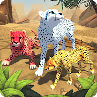 Cheetah Family Sim - Animal Simulator Apk Download for Android