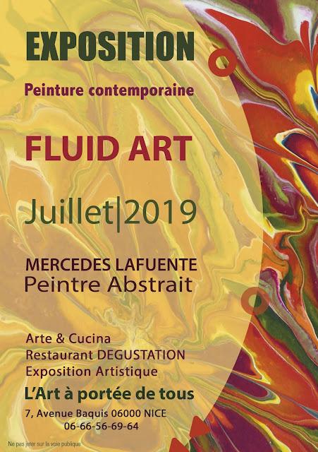 Exposition de peinture contemporaine par Mercedes Lafuente