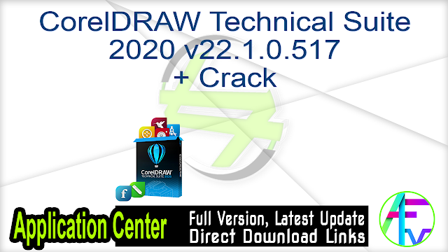 CorelDRAW Technical Suite 2017 19.1.0.414 (x86) + Crack