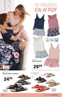 CATALOGUL LIDL 15 - 21 iulie 2019 reduceri pijamale de dama