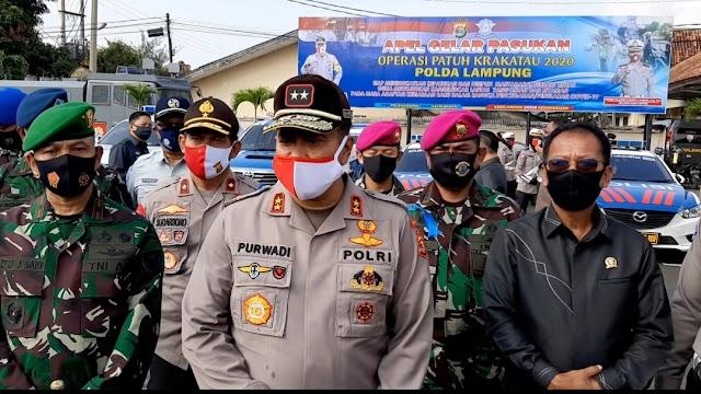 Patuh Krakatau 2020 Digelar Polda Lampung