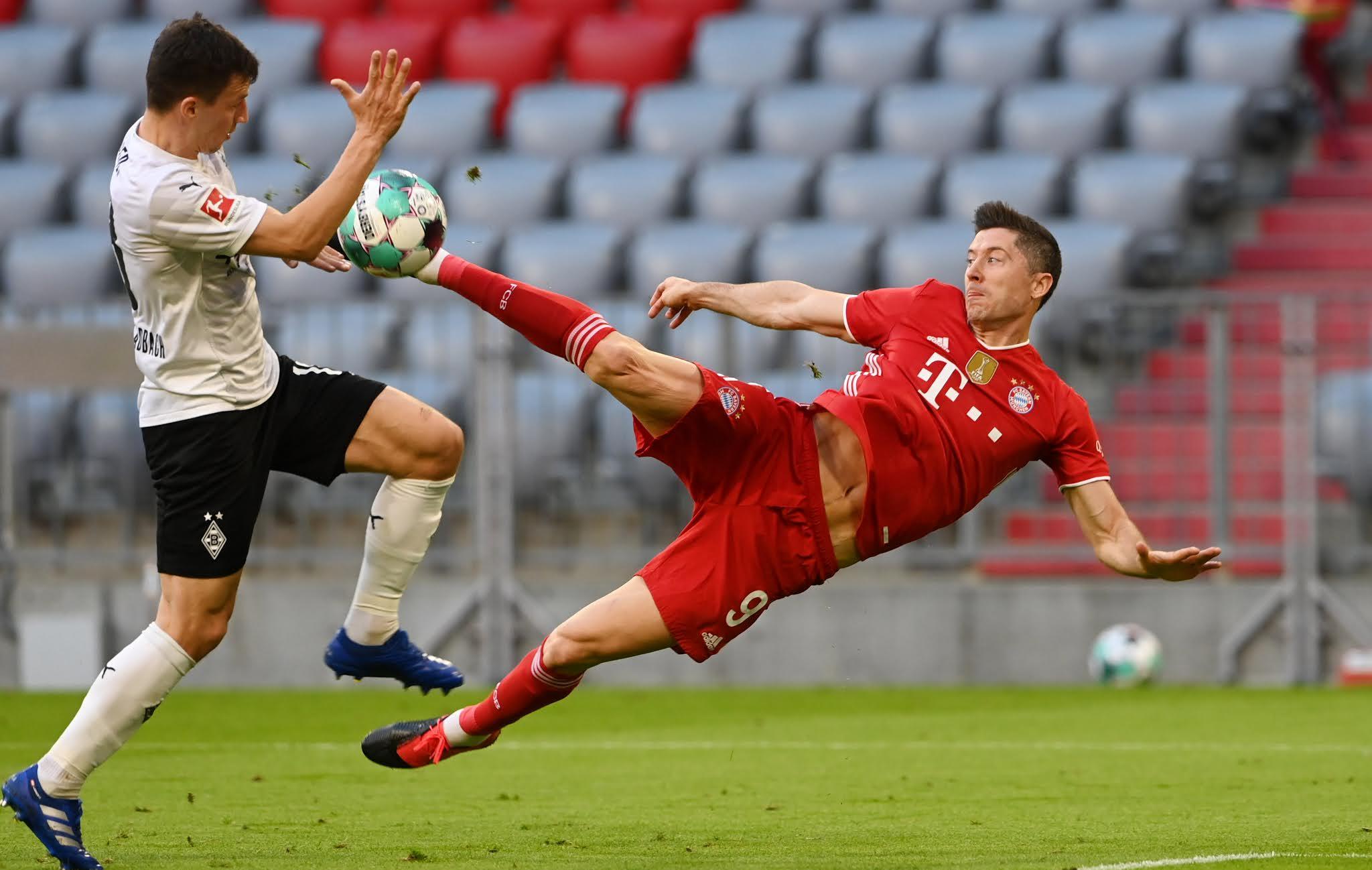 Robert Lewandowski's next target is to break the record for most goals scored in a single Bundesliga season