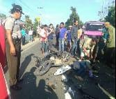 Kecelakaan Maut Libatkan Satu Truk Mitsubihi Fuso Tabrak Belasan Kendaraan