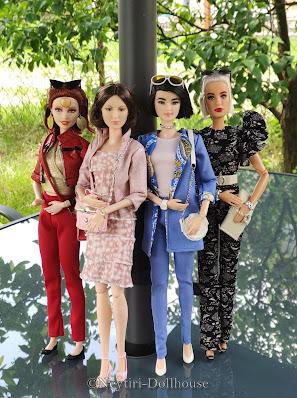 Barbie David Bowie, Florence Nightingale Barbie z serii Inspiring Women, Barbie Styled by Chriselle Lim, Barbie Styled by Iris Apfel