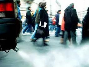 تلوث الھواء یزید من مخاطر الإصابة بالسكتة