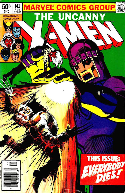 X-men v1 #142 marvel comic book cover art by John Byrne
