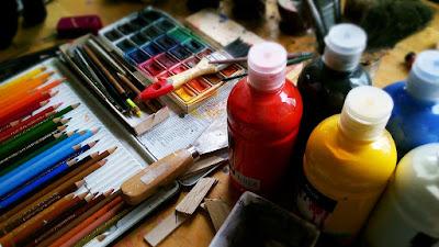 arte alivia o estresse