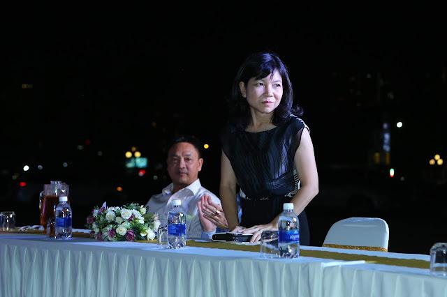Bà Tuyết Mai - Phó giám đốc Trung Tâm Văn Hóa Quận 2 - đại biểu tham dự