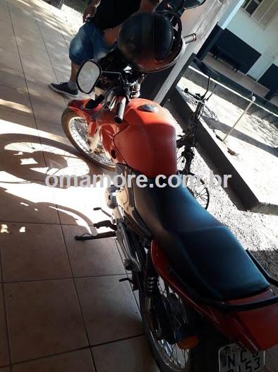 Polícia Civil recupera uma motocicleta furtada e prende um acusado por receptação