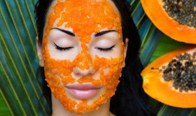 Masques à la papaye pour peau sèche