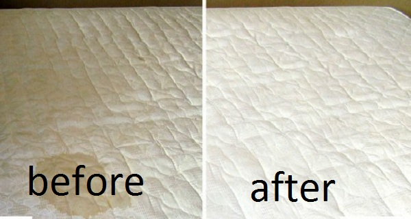 stains before after