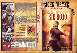 Carátula dvd: Rio rojo (1948)