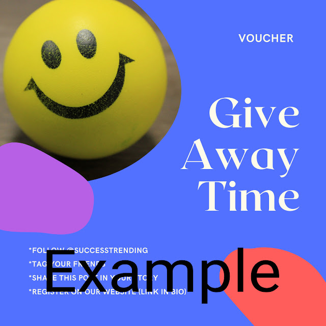 Example Giveaway Post Image