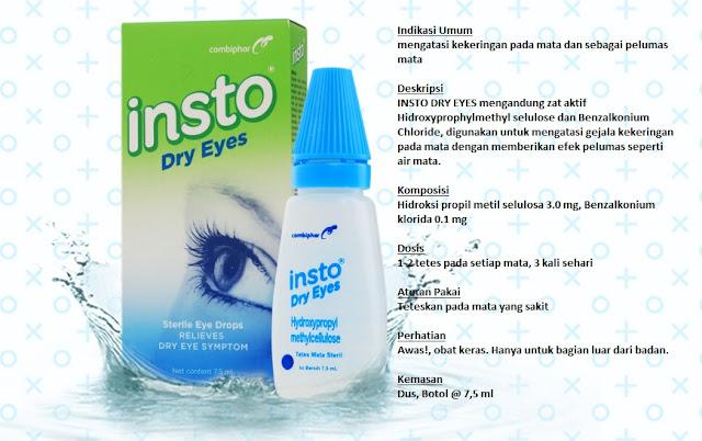 Cara Mengatasi Gejala Mata Kering Dengan Insto Dry Eyes