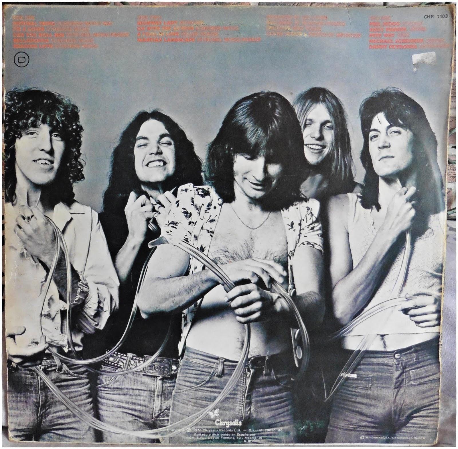 Comunidad del #FFVinilo: UFO - No heavy petting (Chrysalis-1976)
