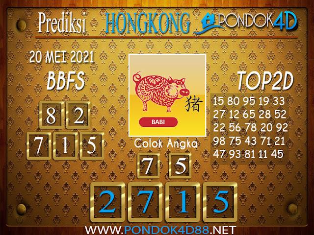Prediksi Togel HONGKONG PONDOK4D 20 MEI 2021