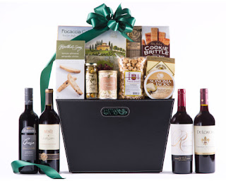 Elegant Wine Gift Baskets