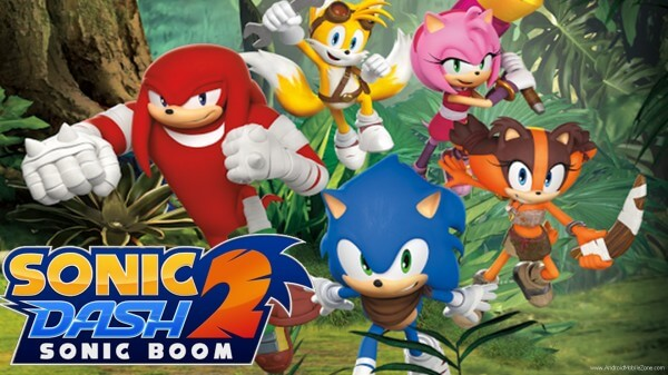sonic dash 2: sonic boom game