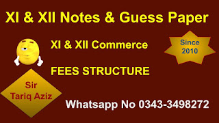 FEES STRUCTURE FOR COMMERCE