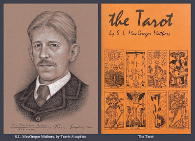 S.L. MacGregor Mathers. Hermetic Order of the Golden Dawn. Magick. The Tarot. by Travis Simpkins