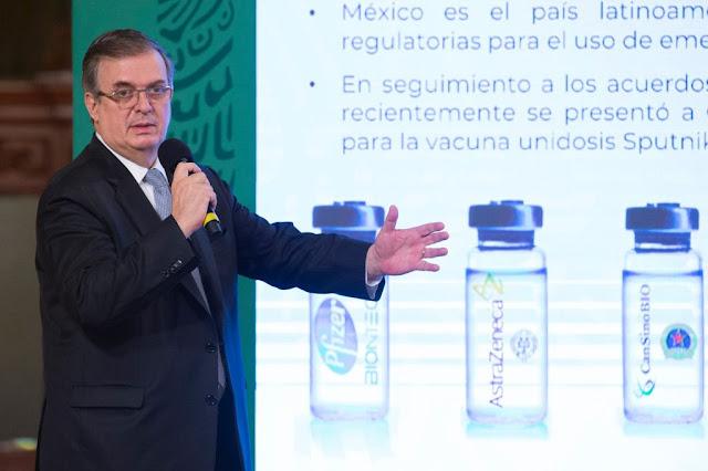 Gobierno de México anuncia la fase III de la vacuna china Walvax en territorio nacional