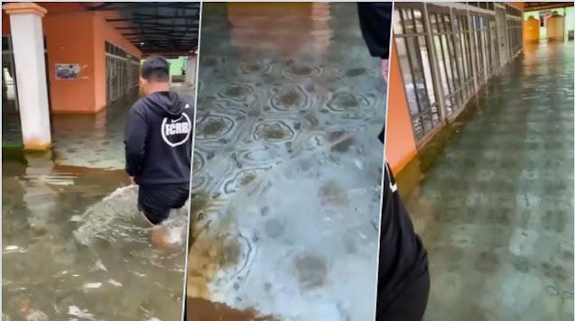 Heboh Masjid di Kalsel Diterjang Banjir, tapi Airnya Berubah Jadi Jernih