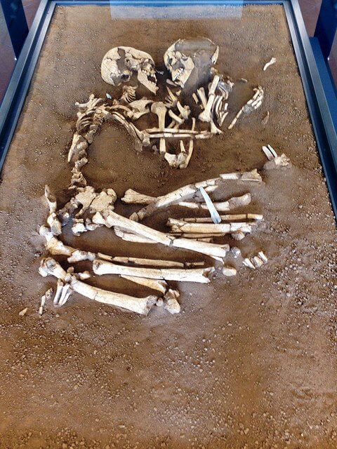 Breathtaking Pictures Of The Valdaro Lovers, A Pair Of Skeletons That Had Been Locked For 6,000 Years