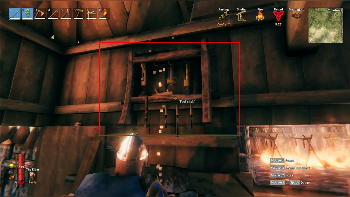 How to upgrade a workbench in Valheim to level 5