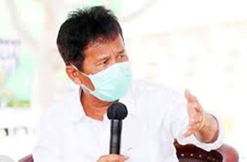 Rudi Ingatkan Warga untuk Jaga Diri Ditengah Pandemi Covid-19 dengan Selalu Jaga Kebersihan