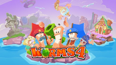 Worms 4 Apk + Data for Android (paid)