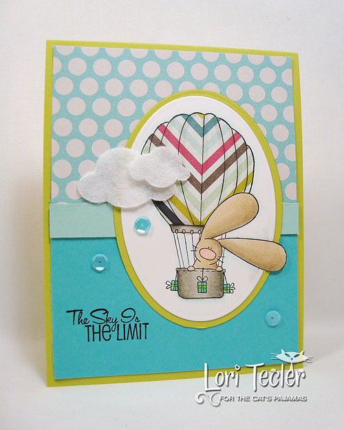 The Sky Is the Limit-designed by Lori Tecler/Inking Aloud-stamps from The Cat's Pajamas