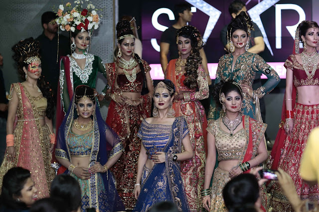 Contestants of Bridal collection