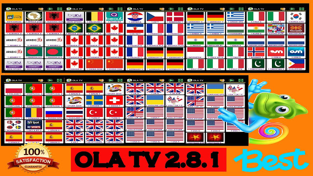 EXCLUSIVE : OLA TV 2 8 1 BEST FREE IPTV APP TO WATCH OVER 20000