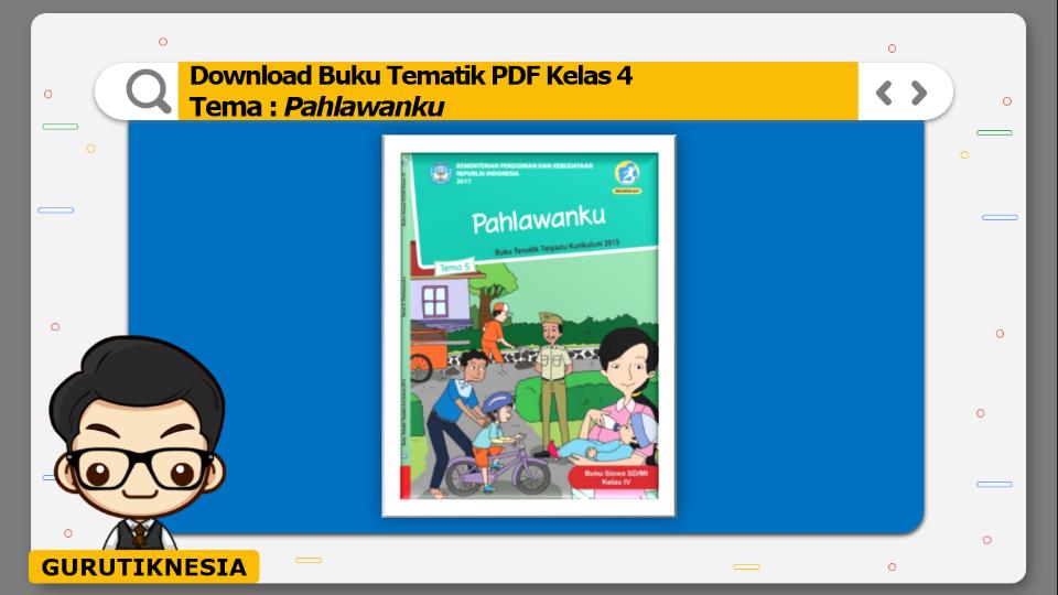 download gratis buku tematik pdf kelas 4 tema pahlawanku