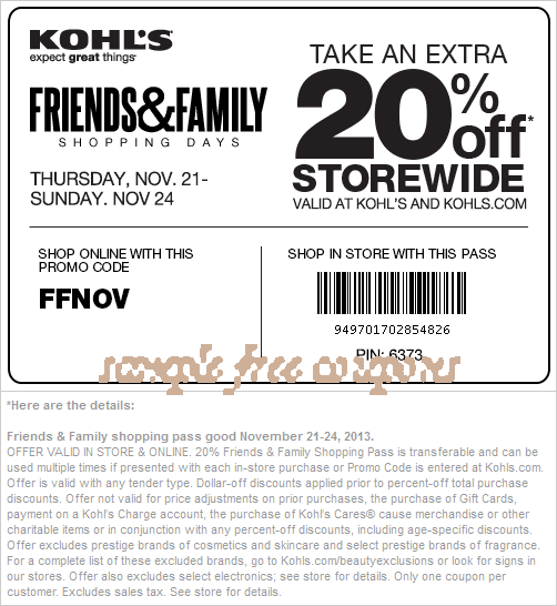 Kohls Stackable Codes. N/A. About Kohls. Kohl's has become one of the top retail locations in the United States thanks to its extensive variety of products that it imriocora.ml's has been in operation since It was originally an offshoot of a supermarket chain in the Milwaukee area.